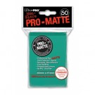 UP - Standard Sleeves - Pro-Matte - Non Glare - Aqua (50 Sleeves) 84151