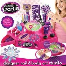(D) Shimmer n' Sparkle - Designer Nail and Body Art Studio (DAMAGED PACKAGING) /Toy