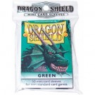 Dragon Shield Small Sleeves - Green (50 Sleeves) 10104