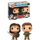Funko POP! Marvel Wonder Woman The Movie - Wonder Woman & Steve Trevor Figure 10cm 2-PACK limited FK14355