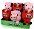 MineCraft 7inch Animal/Hostile mix Plush Assortment pack of 9 Toy - Rotaļlieta