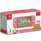 Nintendo Switch Console Lite Coral + Animal Crossing New Horizons