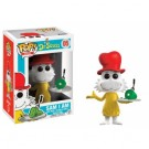 Funko POP! Books Dr. Seuss - Sam I Am Flocked With fish bowl Vinyl Figure 10cm limited FK12862