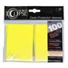 UP - Standard Sleeves - PRO-Matte Eclipse - Lemon Yellow (100 Sleeves) 85608