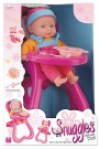 SNUGGLES DELUXE DOLL WITH HIGH CHAIR TY5186