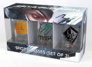 Metal Gear Rising Shotglasses 3Pack