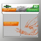 Blackfire Sleeves - Standard Double-Matte Clear (80 Sleeves) BF03563