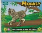 Monkey Build and Learn Green Board Game /Toys