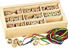 Betzold (50794) Wood Letter Bead  /Toys
