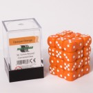 Blackfire Dice Cube - 12mm D6 36 Dice Set - Opaque Orange 91689
