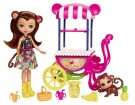 (D) Enchantimals - Fruit Cart Doll Set (Damage Packaging) /Toys