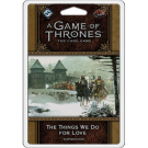 Galda spēle FFG - A Game of Thrones LCG 2nd Edition: The Things We Do For Love - EN FFGGT54