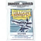 Dragon Shield Small Sleeves - Silver (50 Sleeves) 10108