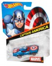 Hot Wheels Marvel Character Cars - Captain America