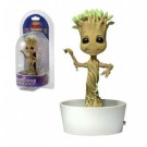 Marvel Guardians Of The Galaxy - Dancing Groot Solar Powered Body Knocker 15cm NECA38720