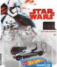 Hot Wheels - Star Wars EP8 Captain Phasma (FDJ74) /Toys