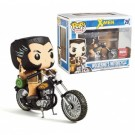 Funko POP! Marvel Collector's Corps - Wolverine's Motorcycle Exclusive Vinyl Figure Set 15cm long /10cm tall limited FKMCC014