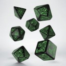 Galda spēle Call of Cthulhu 7th Edition Black & green Dice Set (7) SCTR21