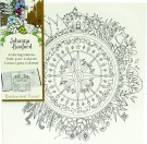 Johanna Basford - Coloring Canvas - Compass