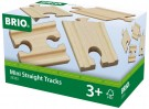BRIO - Mini Straight Tracks (33333)