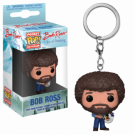Funko POP! Keychain: TV - Bob Ross Vinyl Figure 4cm FK30302
