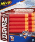 Nerf - N-Strike Refill Mega 10 Darts - Toy