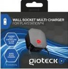 Gioteck Wall Socket Multicharger For PS4 /Gadgets