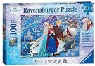(U) Ravensburger Disney Frozen Glittery Snow XXL Jigsaw Puzzle (Used/Potential Missing Pcs) /Toys