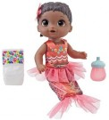 Baby Alive - Shimmer N Splash Mermaid Black Hair /Toys