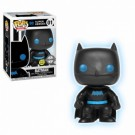 Funko POP! Justice League: Batman Silhouette Glow in the Dark Vinyl Figure 10cm FK24742