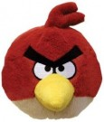 8 inch Angry Birds Plush with Sound (RED) - Toy