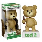 Funko - Ted 2 The Movie - Ted the Teddy Bear Talking Wacky Wobbler Figure 6-inch FK5910