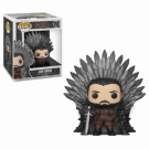 Funko POP! Deluxe GOT S10 - Jon Snow Sitting on Iron Throne Vinyl Figure 10cm FK37791