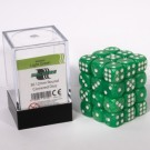 Blackfire Dice Cube - 12mm D6 36 Dice Set - Marbled Light Green 91719