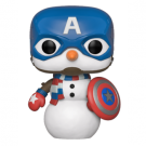 Funko POP! Marvel Holiday - Capt America Vinyl Figure 10cm FK43335