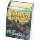 Dragon Shield Standard Sleeves - Matte Green (100 Sleeves) 11004
