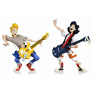 Bill and Ted's Excellent Adventure ? Toony Classics Bill and Ted 2-Pack Action Figures 15cm NECA12163
