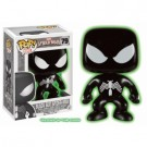 Funko POP! Marvel - Spider-Man Black Glow in the Dark - Vinyl Figure 10cm FK7011