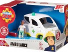(D) Fireman Sam - Ambulance (DAMAGED PACKAGING) /Toys