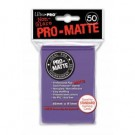UP - Standard Sleeves - Pro-Matte - Non Glare - Purple (50 Sleeves) 84187
