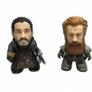 Titan Merchandise - Game Of Thrones TITANS Two-Pack: Jon Snow and Tormund Snowy Vinyl Figures 8cm GOT-JSWW-001