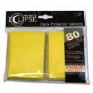 UP - Standard Sleeves - PRO-Matte Eclipse - Yellow (80 Sleeves) 85112