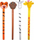 INFLATABLE JUNGLE STICK 118CM ASST X99314
