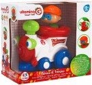GLOBO 05154 Vitamina G Train Bump and Go with Light and Sound, Multi-Color /Toys