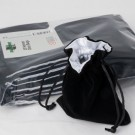 Blackfire Dice - Velvet Dice Bag with White Satin Lining & No Logo (20 Bags)
