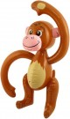 INFLATABLE MONKEY 58CM X99310