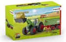 Schleich - Tractor with Trailer /Toys