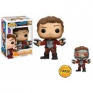 Funko POP! Marvel - Guardians of the Galaxy vol. 2 STAR-LORD Vinyl Figure 10cm Assortment (5+1 chase figure) FK12784-case
