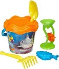Acqualandia Lithography Bucket with Sand Mill /Toys