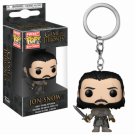 Funko POP! Keychain Game of Thrones - Jon Snow (Beyond the Wall) Vinyl Figure 4cm FK31812